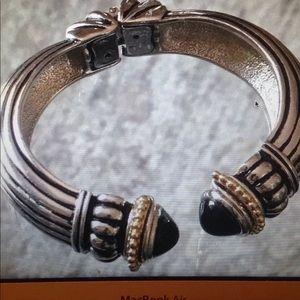 Gorgeous Vintage Renaissance Two Tone Bracelet